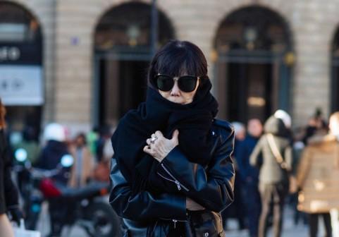 Street Style : Paris Fashion Week - Menswear Fall/Winter 2017/2018 : Day One